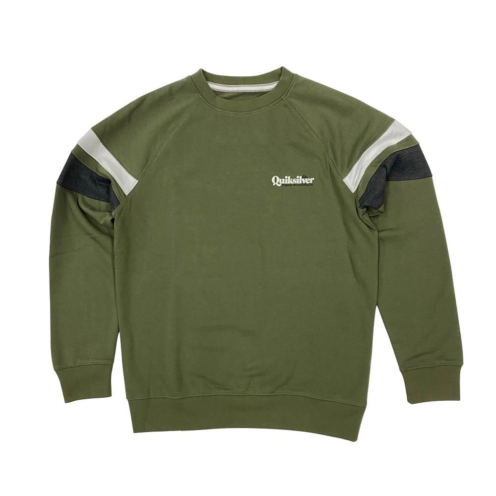 SPORTSLINE BLOCK FLEECE CREW T恤
